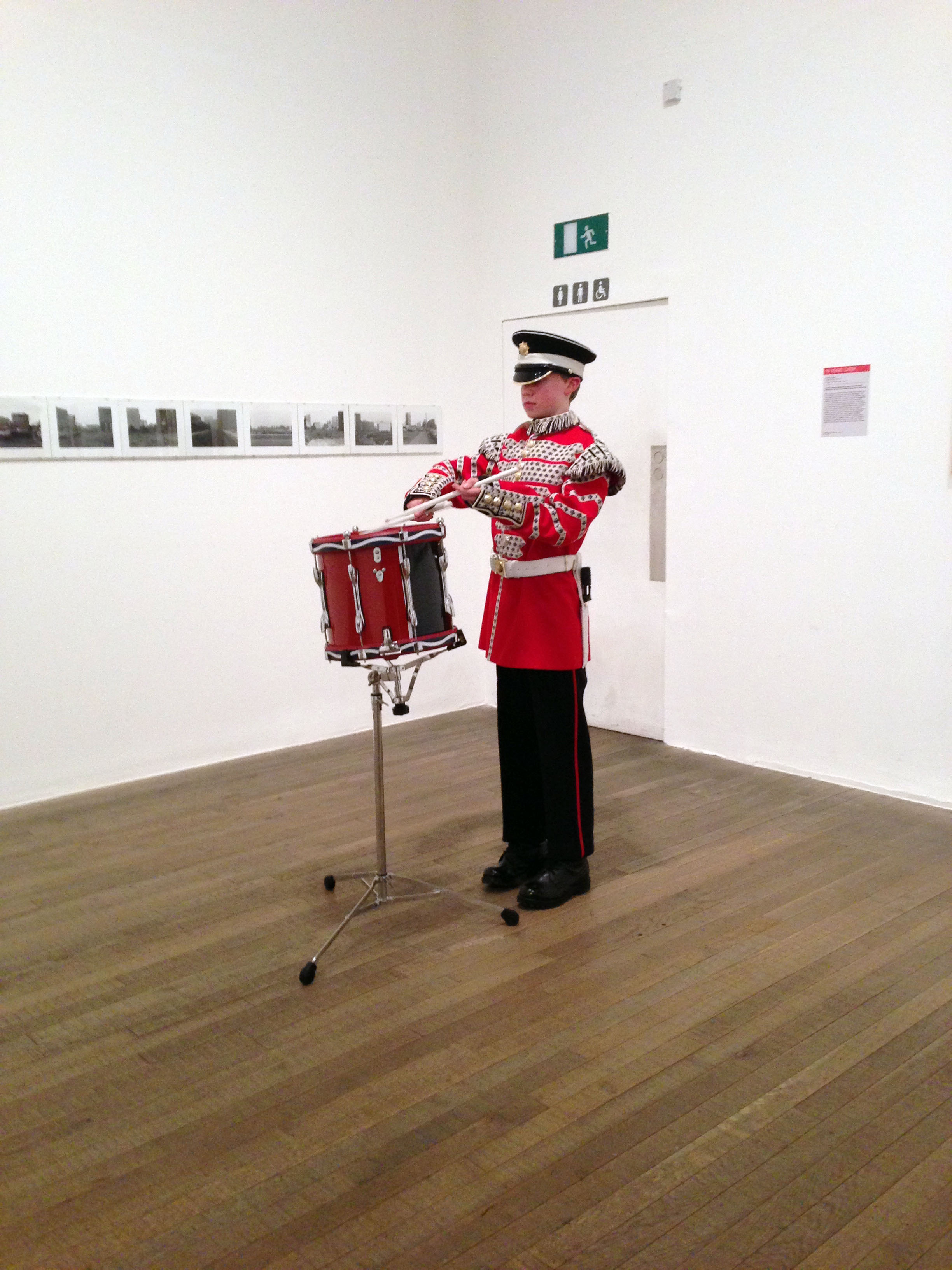 Adam Broomberg and Oliver Chanarin, War Primer II: One Way Song at Tate Modern, 26 January 2015, photograph by Jessie Bond