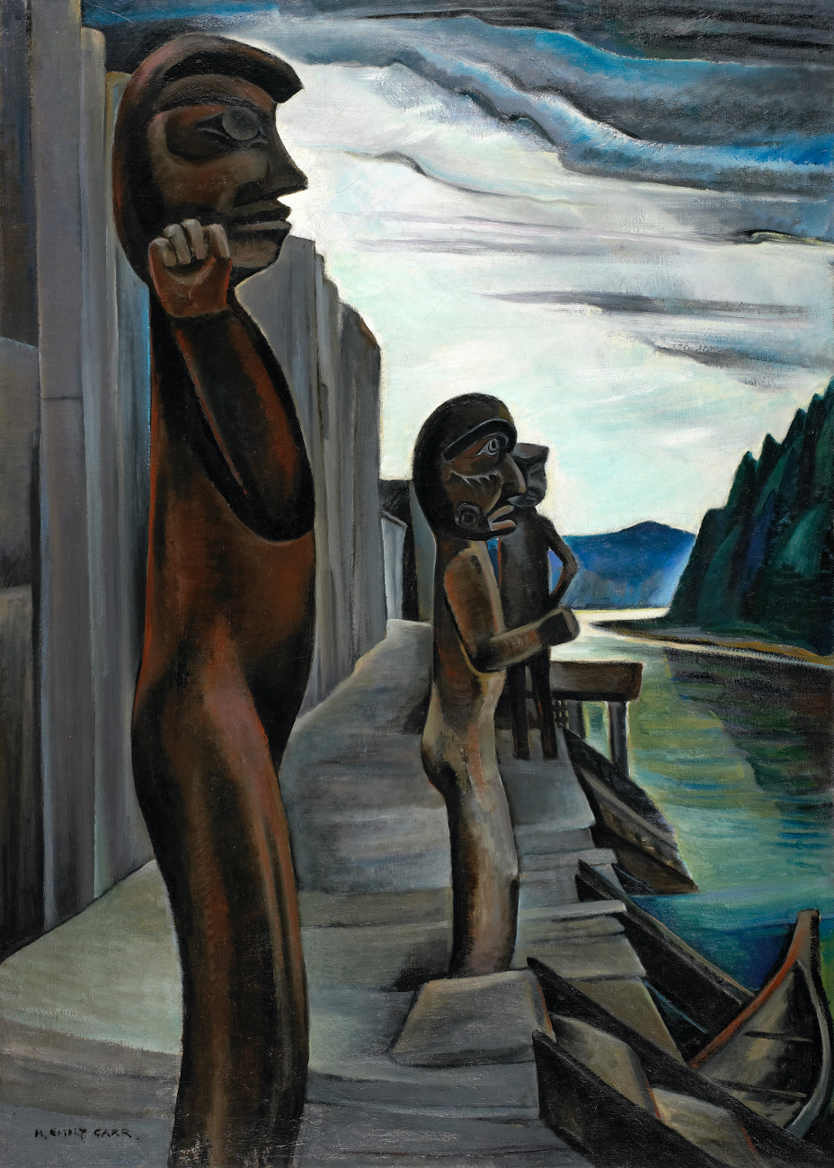 Emily Carr, Blunden Harbour, c 1930, oil on canvas, 129.8 x 93.6 cm, National Gallery of Canada, Ottawa, Photo © NGC