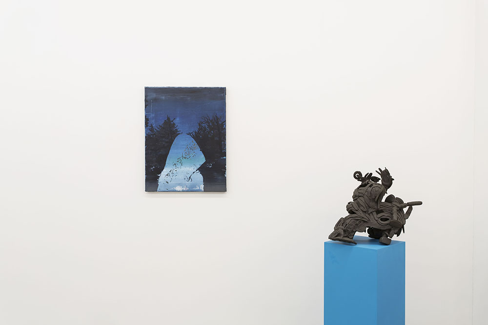 Jose Carlos Naranjo & Luke Armitstead. Installation view courtesy of Beers Contemporary.